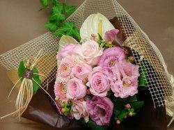 画像1: 花束 - ピンク系